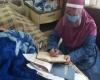 تدریس مجازی معلم پرتلاش همدانی از بیمارستان